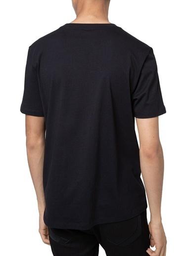 Hugo Boss  % 100 Pamuklu Bisiklet Yaka T Shirt Erkek T Shırt 50448795 001 Siyah